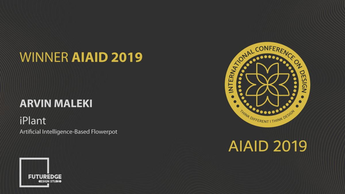 ARVIN MALEKI WINNER AIAID 2019