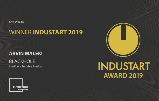 ARVIN MALEKI WINNER INDUSTART 2019