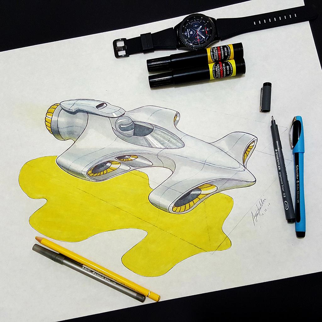 Arvin Maleki Sketch29