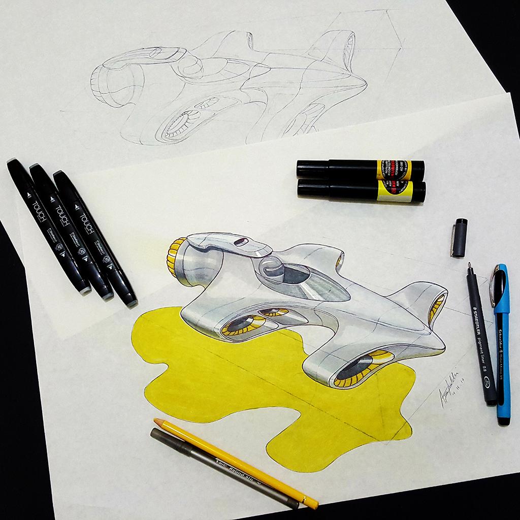 Arvin Maleki Sketch49