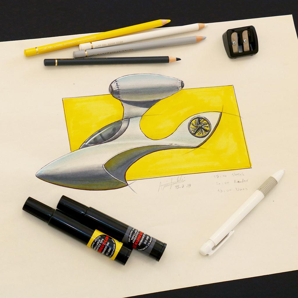 Arvin Maleki Sketch50