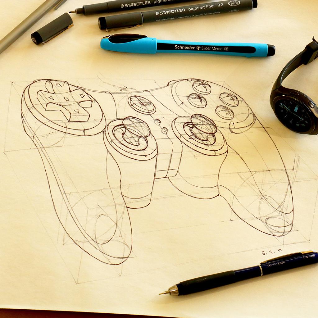 Arvin Maleki Sketch15