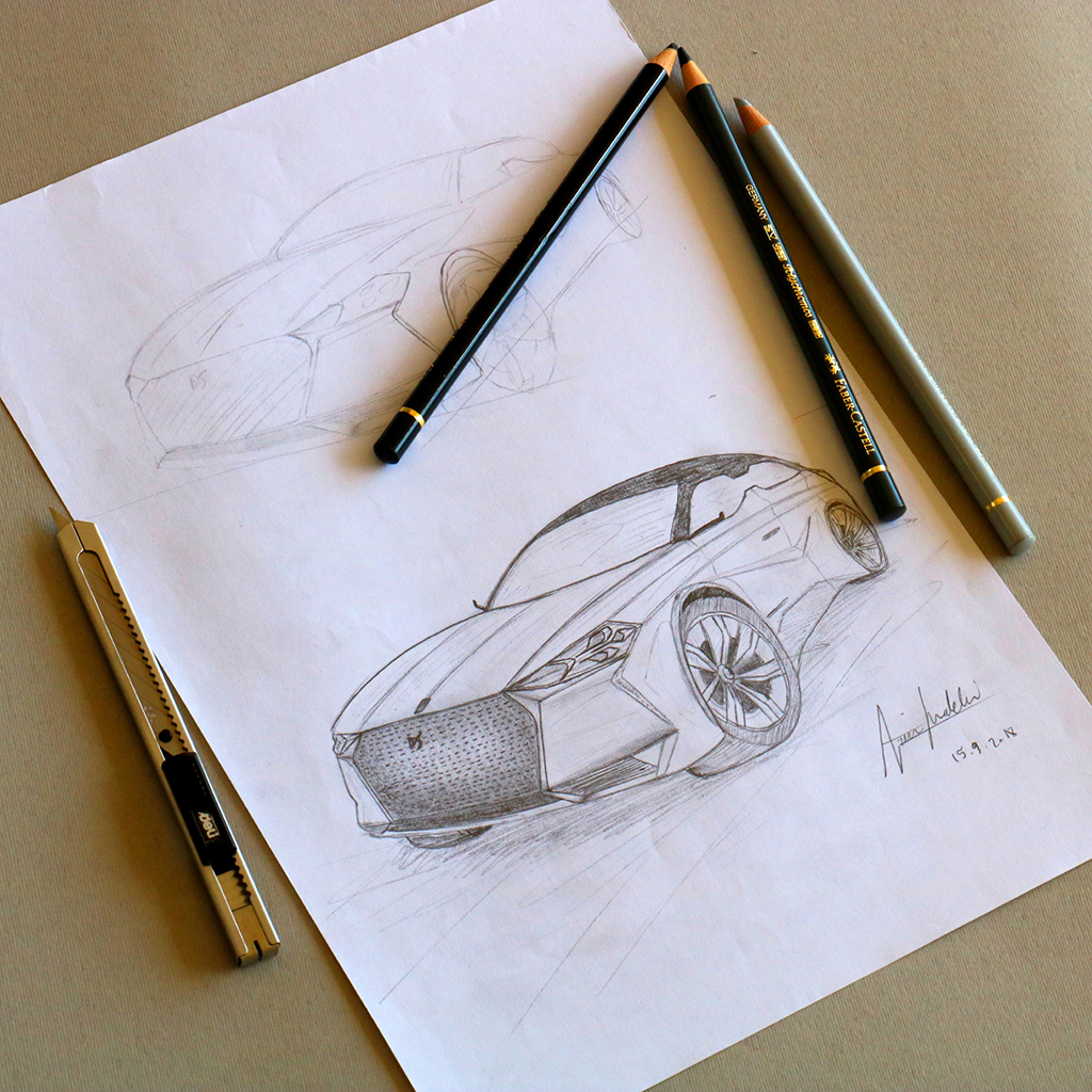 Arvin Maleki Sketch10