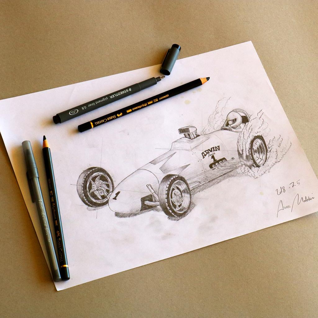Arvin Maleki Sketch30