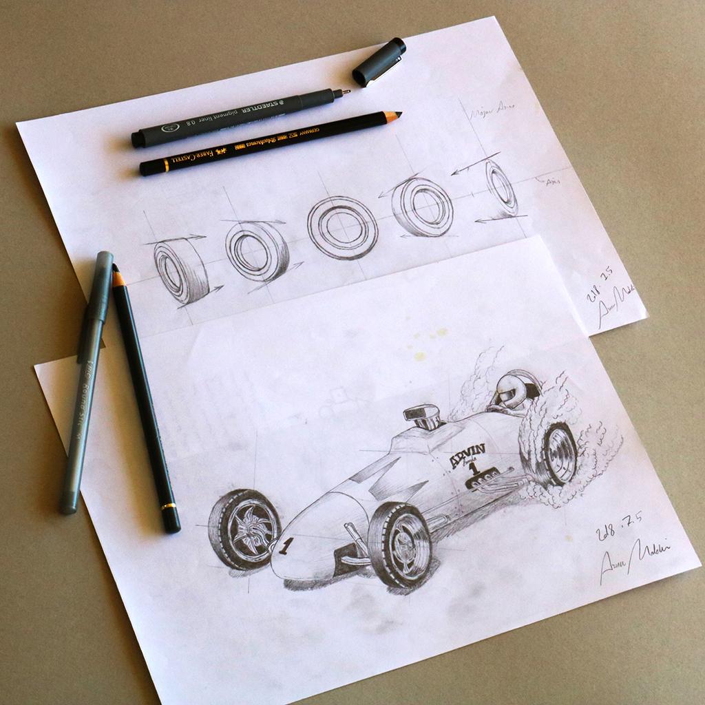 Arvin Maleki Sketch36