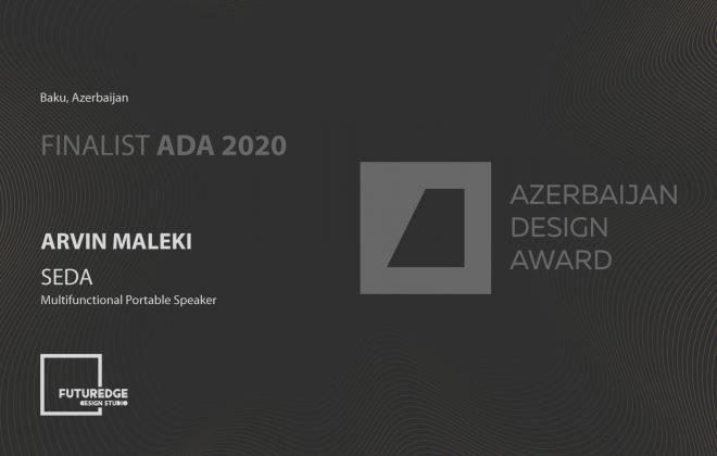 ARVIN MALEKI AZERBAIJAN DESIGN AWARD2020