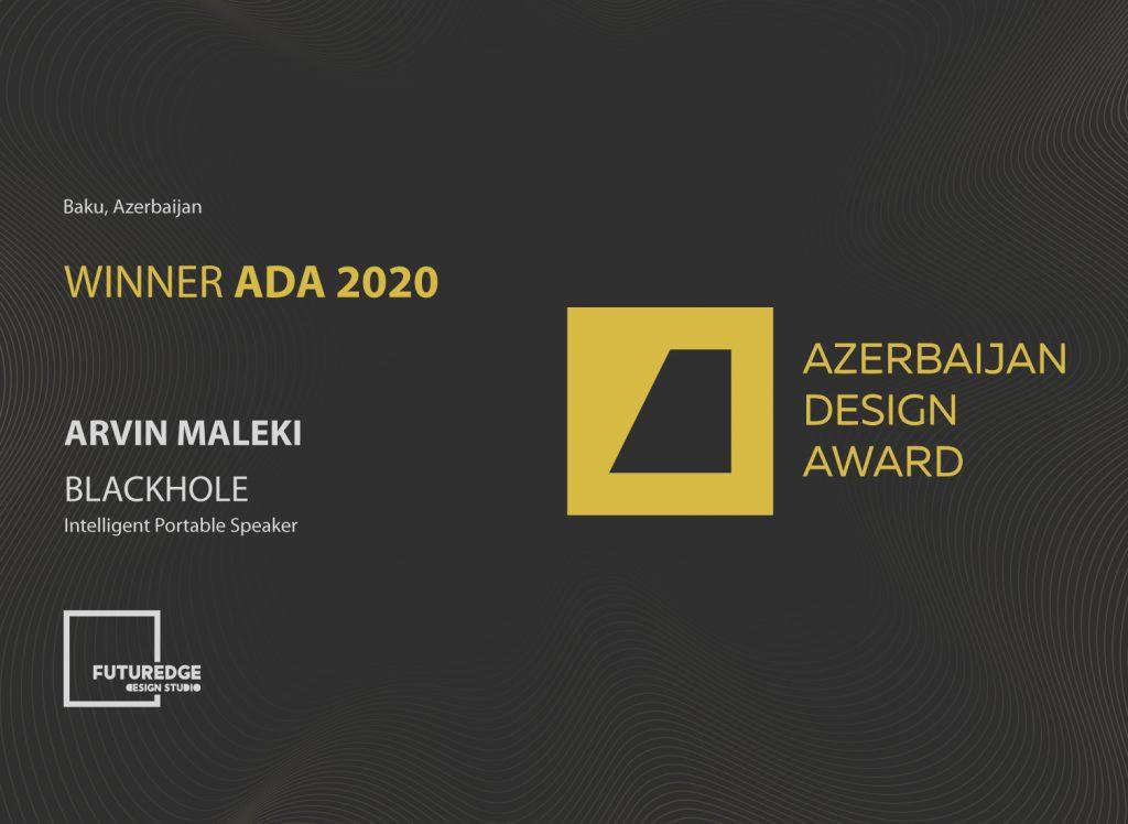 ARVIN MALEKI AZERBAIJAN DESIGN AWARD 2020