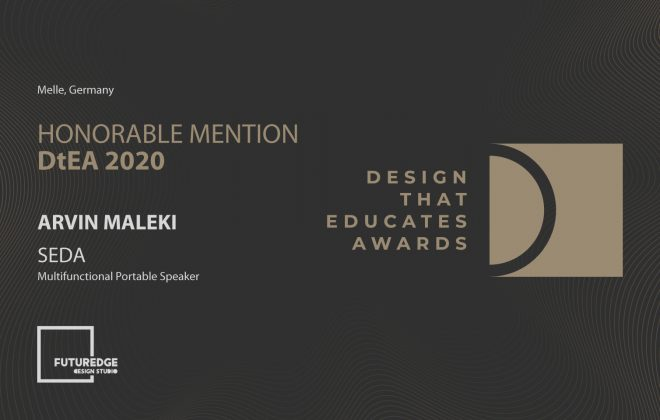 ARVIN MALEKI HONORABLE MENTION DESIGN THAT EDUCATES AWARDS SEDA