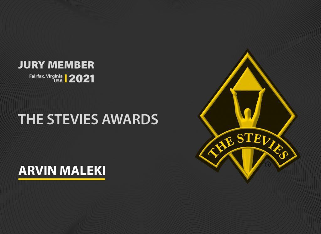 Arvin Maleki Stevies Awards Jury