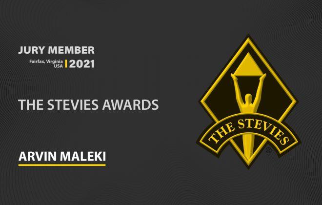 Arvin-Maleki-Stevies-Awards-Jury